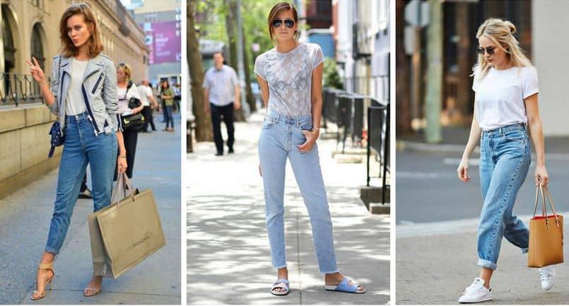 Açık Renk Pantolon ve Bluz Kombini